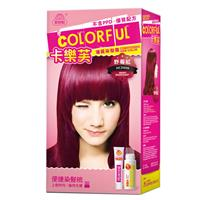 卡樂芙優質染髮霜-野莓紅(含A/B劑