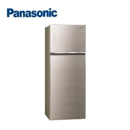 Panasonic 485L 2門全平面無邊框玻璃電冰箱 NR-B489TG-N(翡翠金) 【含運