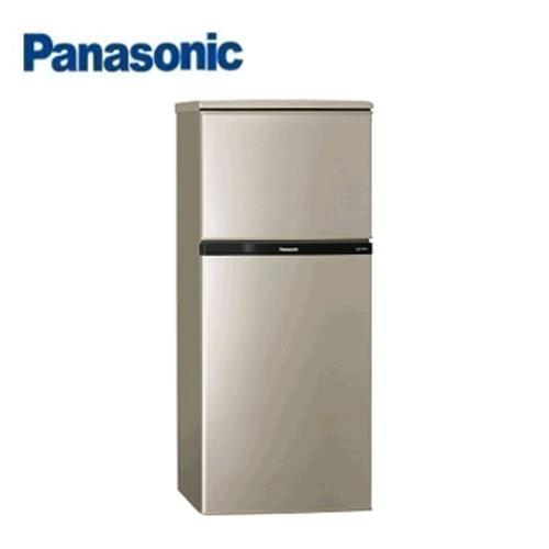 Panasonic 130L 2門電冰箱 NR-B139T-R (亮彩金)【含運