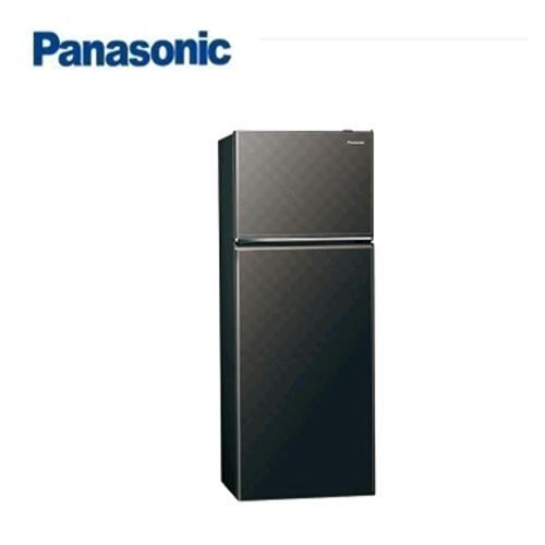 Panasonic 393L 2門全平面無邊框鋼板電冰箱 NR-B409TV-K(星空黑)【現省2千 送炒鍋 含運+基裝+回收舊機】