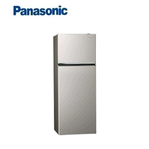Panasonic 393L 2門全平面無邊框鋼板電冰箱 NR-B409TV-S(銀河灰)【送炒鍋 含運+送基裝+回收舊機】