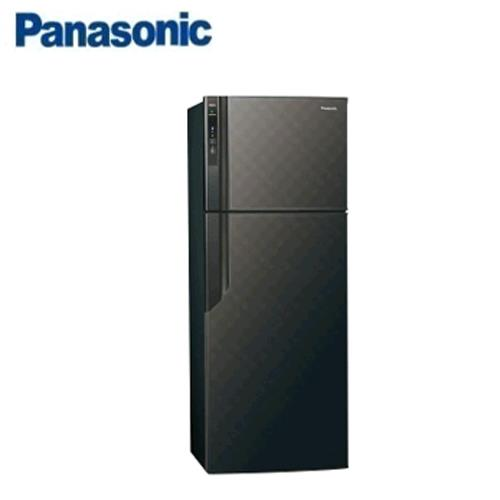 Panasonic 485L 2門電冰箱 NR-B489GV-K(星空黑)【現省2千5 送炒鍋 含運+基裝+回收舊機】
