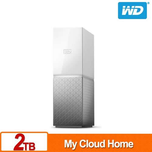 WD My Cloud Home 2TB 網路儲存伺服器