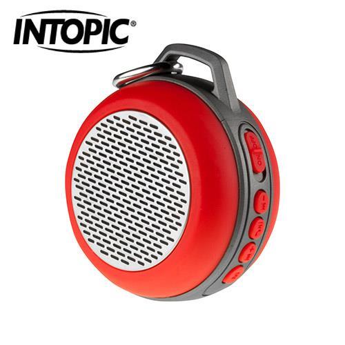 【新款上市】【INTOPIC】廣鼎 多功能炫彩LED藍牙喇叭 SP-HM-BT160-RD