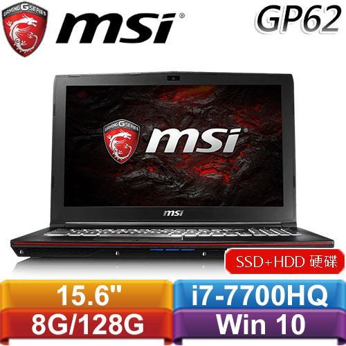 【福利品】MSI微星 GP62 7RE(Leopard Pro-611TW