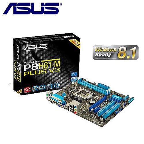 ASUS華碩 P8H61-M PLUS V3 主機板