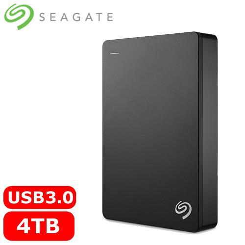 【網購獨享優惠】Seagate希捷 Backup Plus 2.5吋 4TB 行動硬碟-黑