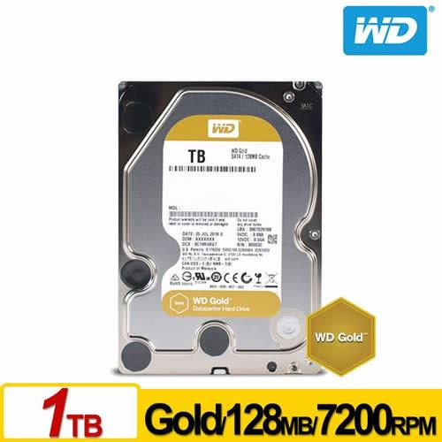 WD 金標 3.5吋 1TB SATA3 企業級硬碟 WD1005FBYZ