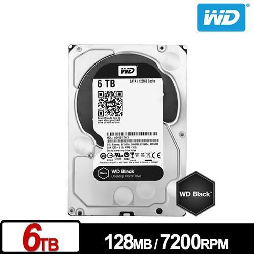 WD6002FZWX 黑標 6TB 3.5吋SATA硬碟