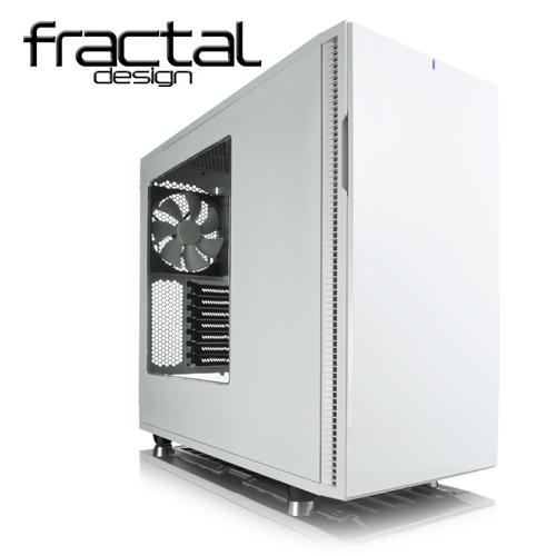 Fractal Design Define R5 靜音機殼(極光白)側板開窗