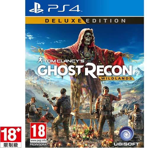 【預購品】PS4遊戲《湯姆克蘭西 火線獵殺:野境》中文限定版