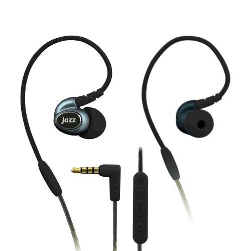 INTOPIC 多功能舒適型耳機麥克風 黑色 JAZZ-I80-BK