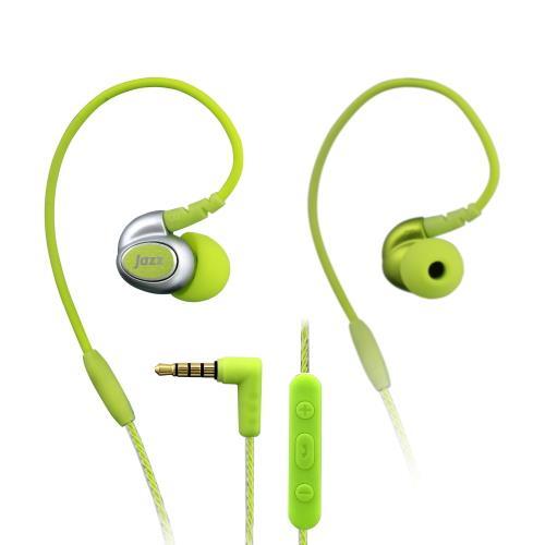 INTOPIC 多功能舒適型耳機麥克風 綠色 JAZZ-I80-GN