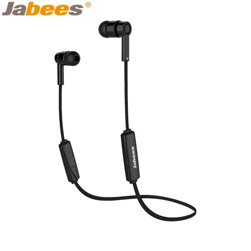 【網購獨享優惠】Jabees超輕量運動型藍牙耳機Obees黑