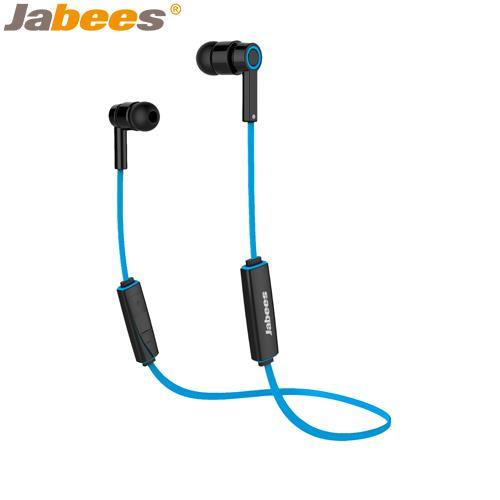 【網購獨享優惠】Jabees超輕量運動型藍牙耳機Obees藍