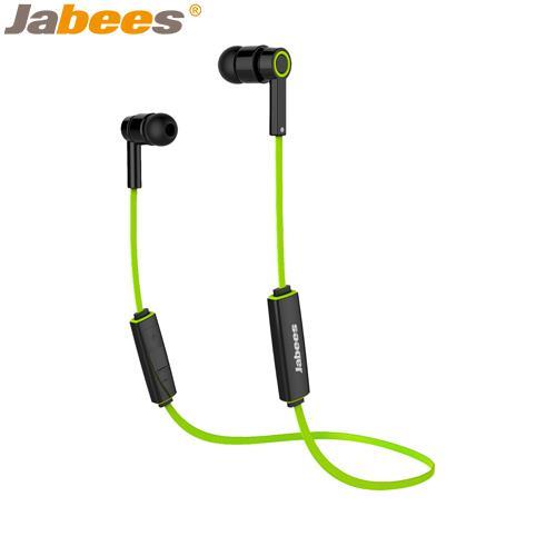【網購獨享優惠】Jabees超輕量運動型藍牙耳機Obees綠