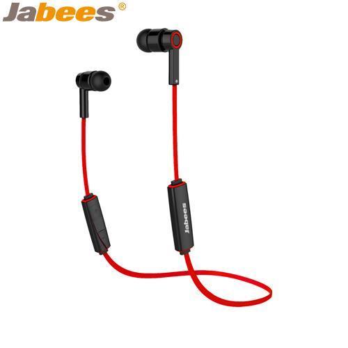 【網購獨享優惠】Jabees超輕量運動型藍牙耳機Obees紅