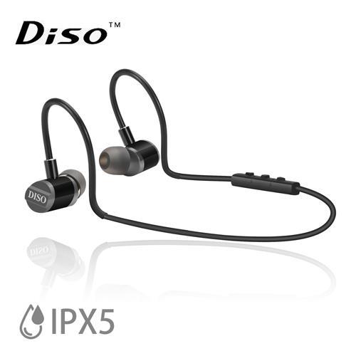 DISO MH-816 IPX5極輕藍芽耳機 (黑色)