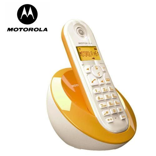 MOTOROLA數位無線電話C601(橘)