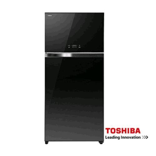 TOSHIBA 東芝變頻玻璃鏡面ECO節能系列冰箱雙門冰箱608L GR-WG66TDZ(XK)黑色