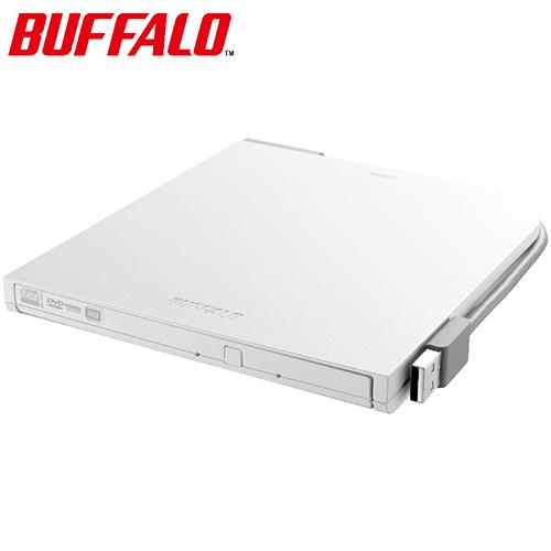 BUFFALO巴比祿 DVSM-PT58U2VW 超薄型攜帶式DVD燒錄機 白