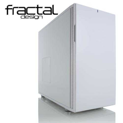 Fractal Design Define R5 靜音機殼(極光白)無透側