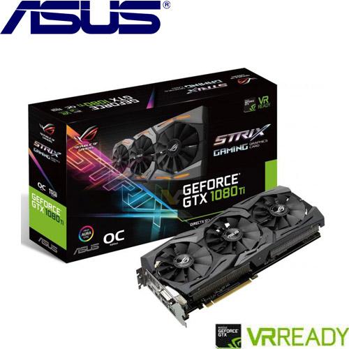 ASUS華碩 GeForce STRIX-GTX1080TI-O11G-GAMING 顯示卡