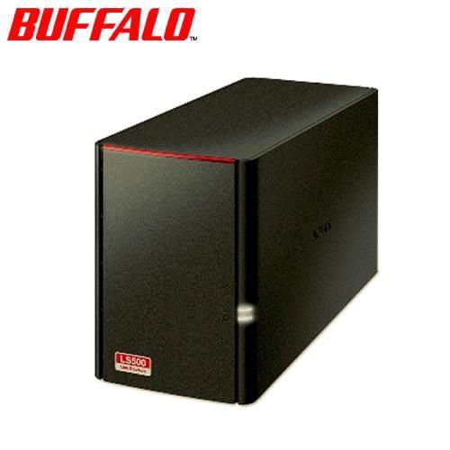 BUFFALO LinkStation LS520DE 2Bay NAS (不含硬碟)【送羅技滑鼠】
