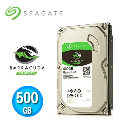 Seagate BarraCuda 500GB 3.5吋硬碟機 (ST500DM009)