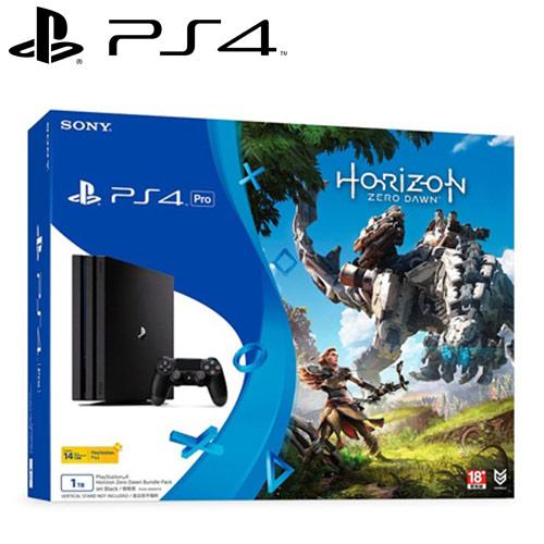【客訂品】SONY 新力 PS4主機 PRO 1TB 地平線:期待黎明 同捆組