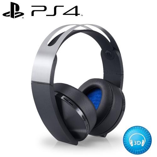 【預購品】SONY 新力 PS4 3D環繞音效 7.1虛擬聲道 無線耳罩耳機