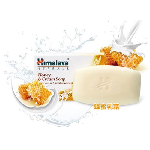 印度 Himalaya 喜馬拉雅 蜂蜜乳霜保濕香皂 125g 1入