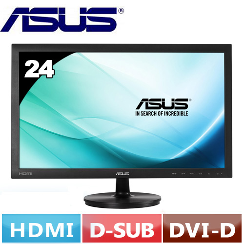 R1【福利品】ASUS華碩 VS247HR 24型 LED液晶螢幕