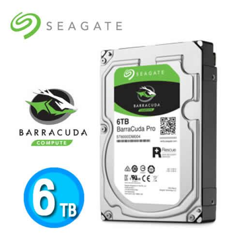 Seagate BarraCuda Pro 6TB 3.5吋硬碟機 (ST6000DM004)