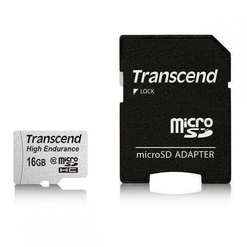 Transcend 創見 高耐用 MLC顆粒 microSDHC Class 10 / 16G 記憶卡