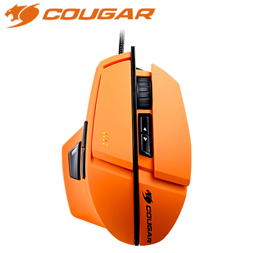 COUGAR 美洲獅 600M 雷射電競滑鼠 橘(8000dpi)
