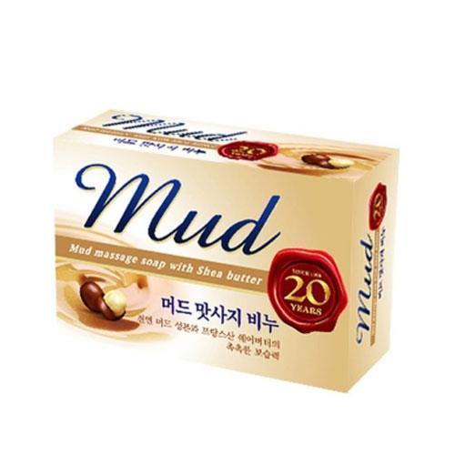 韓國 MKH無窮花-乳木果油保濕SPA放鬆泥皂 100g 1入