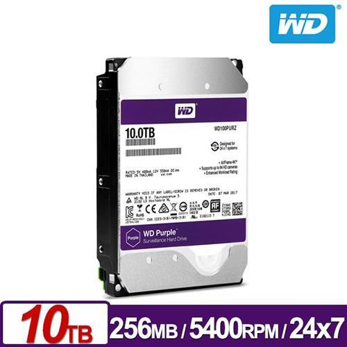WD100PURZ 紫標 10TB 3.5吋監控系統硬碟