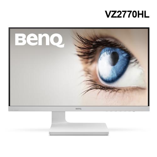 BenQ VZ2770HL 27型廣視角時尚美型護眼螢幕 白【原價:5699▼限量10台】