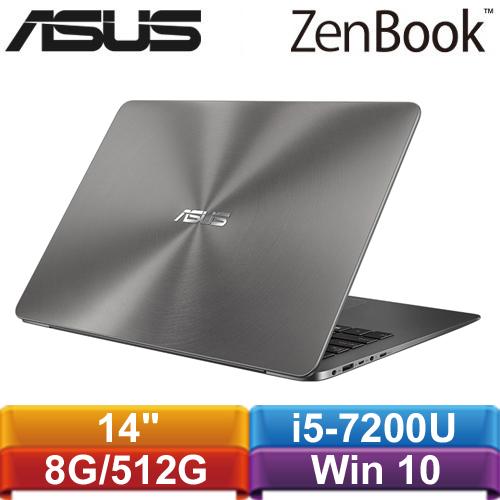 ASUS華碩 ZenBook UX430UQ-0041A7200U 14吋筆記型電腦