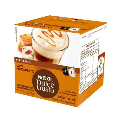 雀巢DOLCEGUSTO 焦糖瑪奇朵咖啡膠囊16顆入