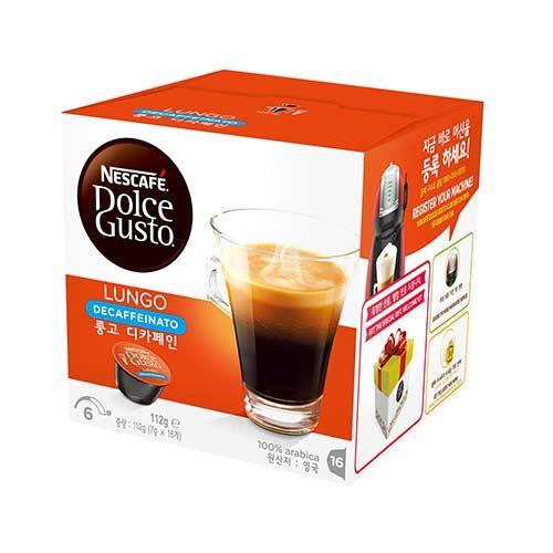 雀巢DOLCEGUSTO 低咖啡因美式濃黑咖啡膠囊16顆入