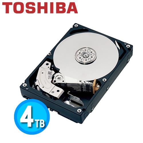 Toshiba N300 3.5吋 4TB NAS 專用硬碟 HDWQ140AZSTA【下殺300↘送LED隨身燈】