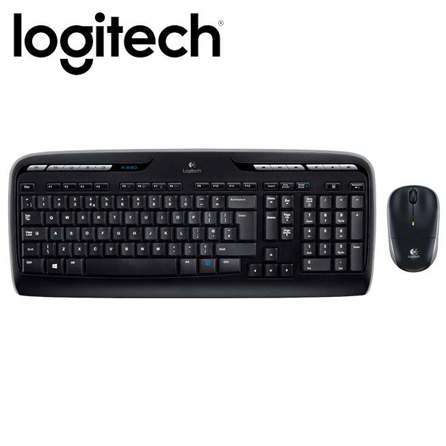 Logitech 羅技 MK330 2.4G無線鍵盤滑鼠組