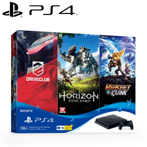 【客訂】SONY 新力 PS4 主機 500GB HITS Bundle 同捆組