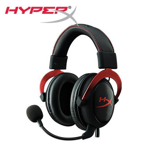 HyperX CLOUDII電競耳機-靚酷紅