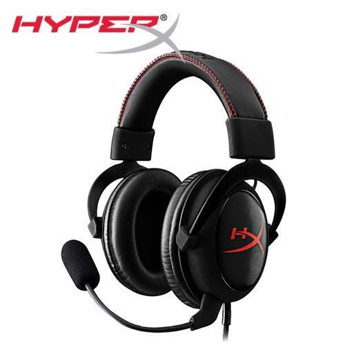 HyperX Cloud Core電競耳機(KHX-HSCC-BK-FR)【送耳麥盒+環保袋】