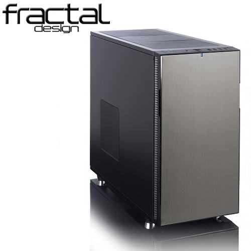 Fractal Design DEFINE R5 靜音機殼(冰岩灰)側版無開窗