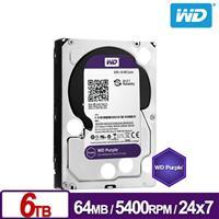 WD60PURZ 紫標 6TB 3.5吋監控系統硬碟