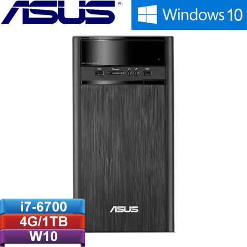 ASUS華碩 K31CD-0021A670UMT 桌上型電腦